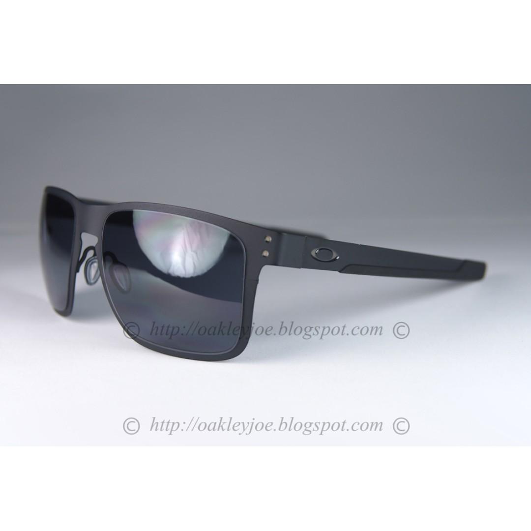 4b6a114043 BNIB Oakley Holbrook Metal matte black + grey OO4123-0155 sunglass ...