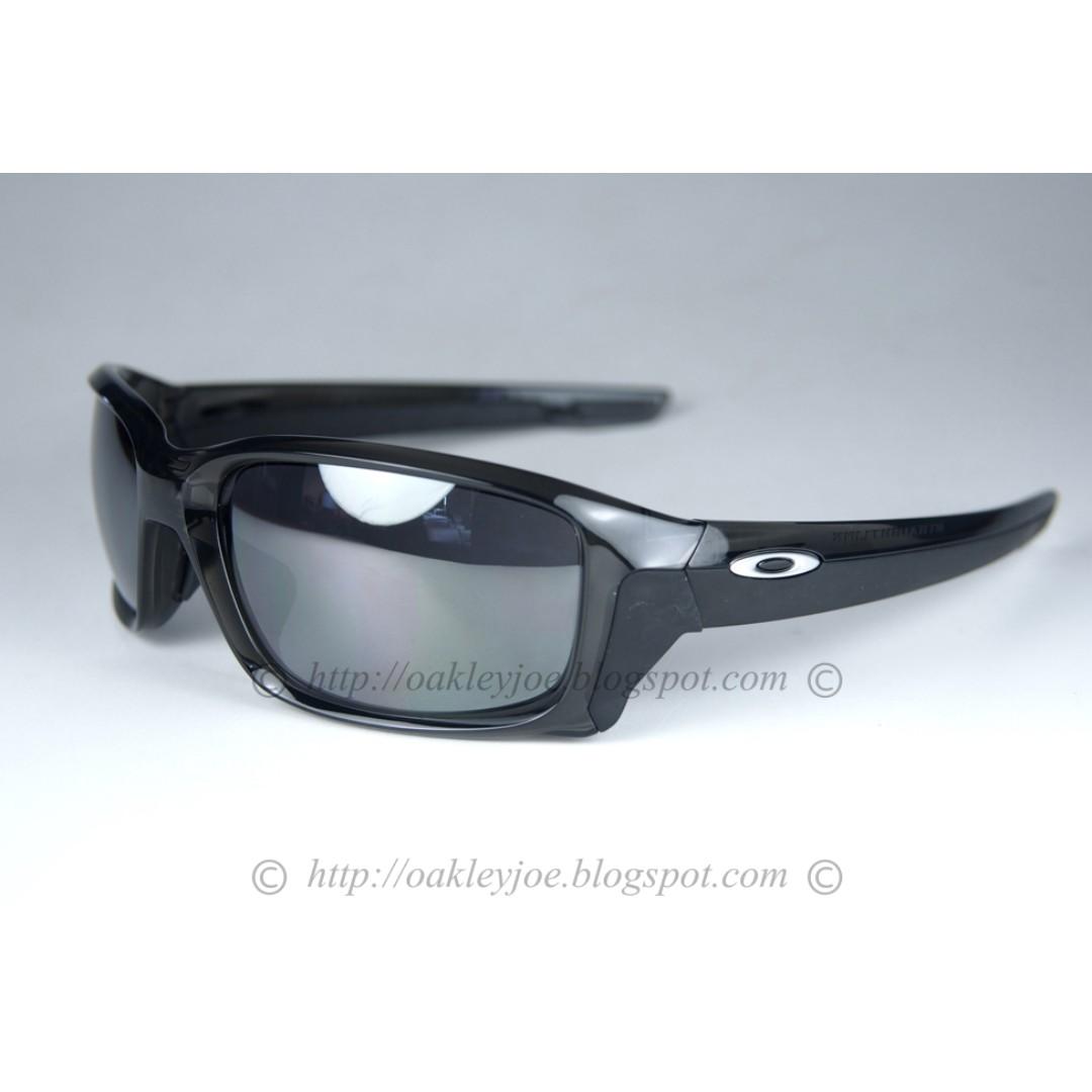 57b3c33fa0 BNIB Oakley Straightlink Asian Fit grey smoke + black iridium oo9336 ...