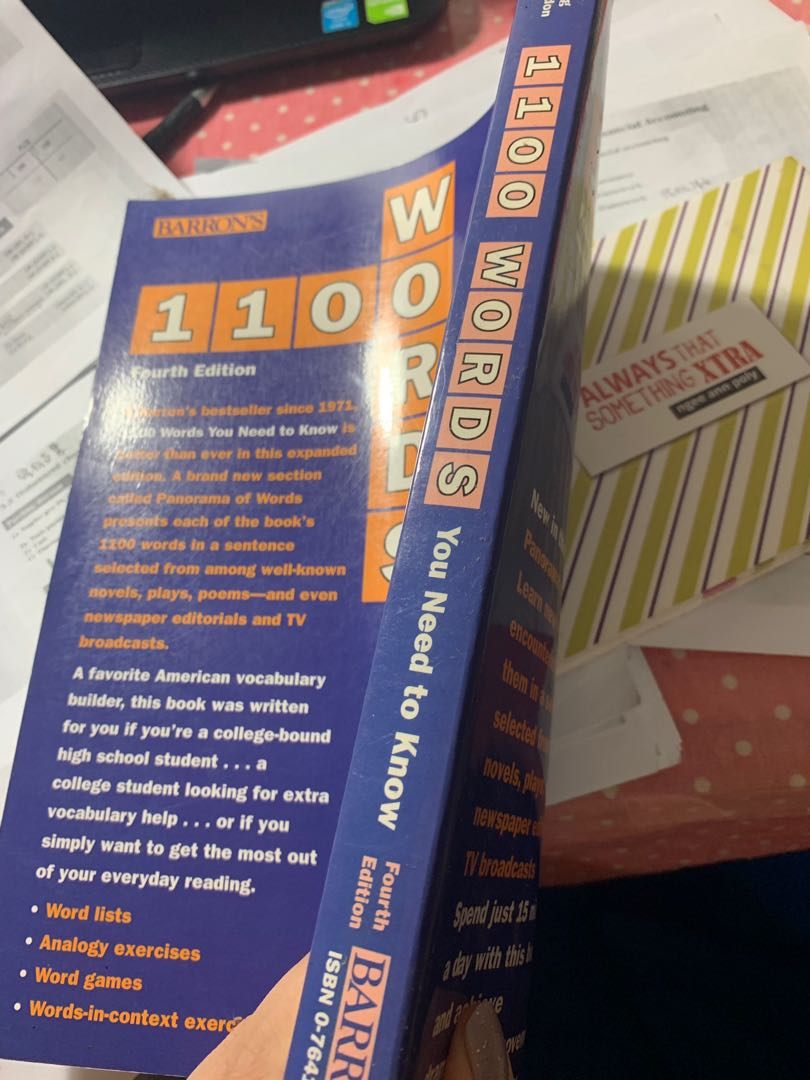 book:1100 words you need to know