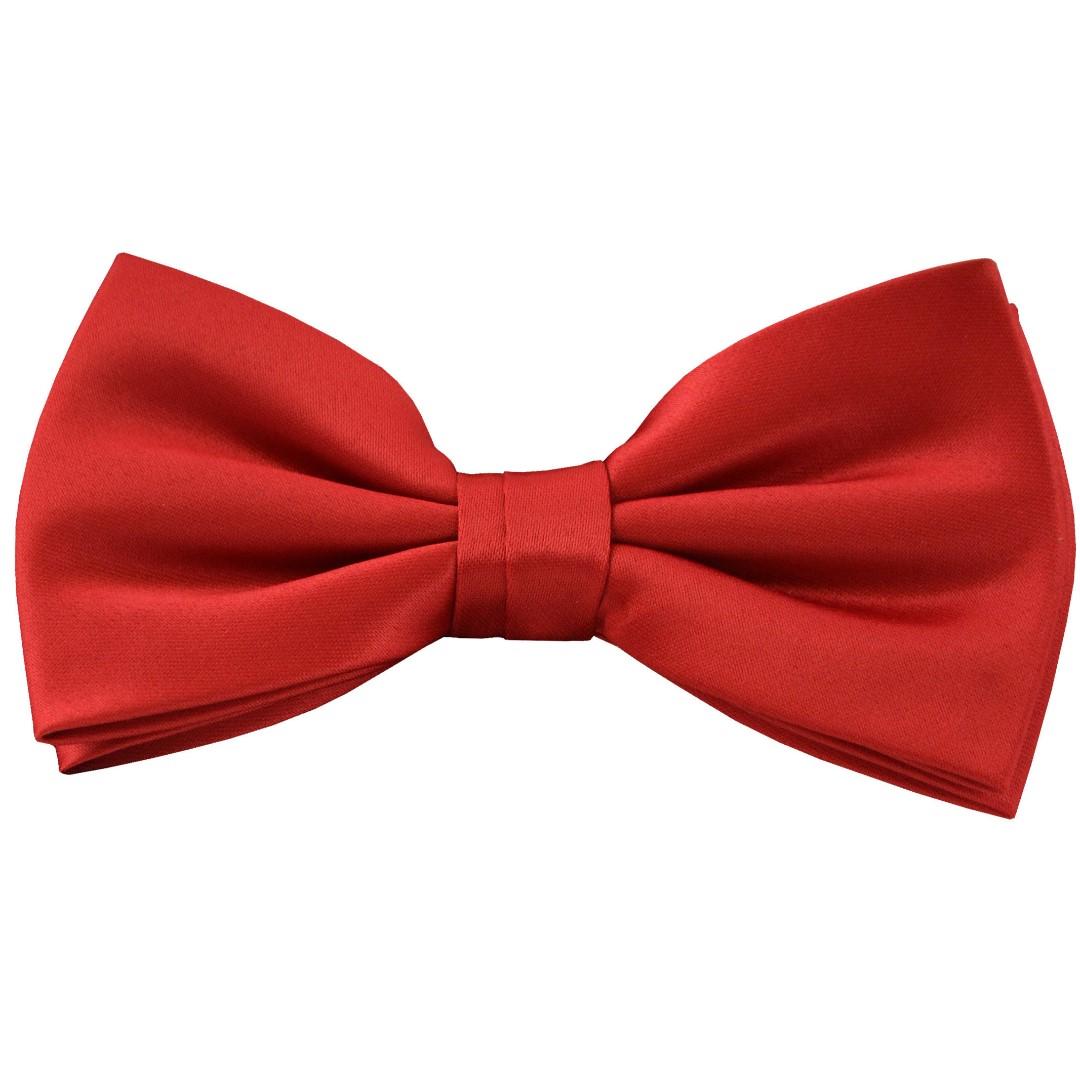 f5afd3cfe4ca Brand New 100% Silk Solid Red Pierre Cardin Bowtie, Men's Fashion ...