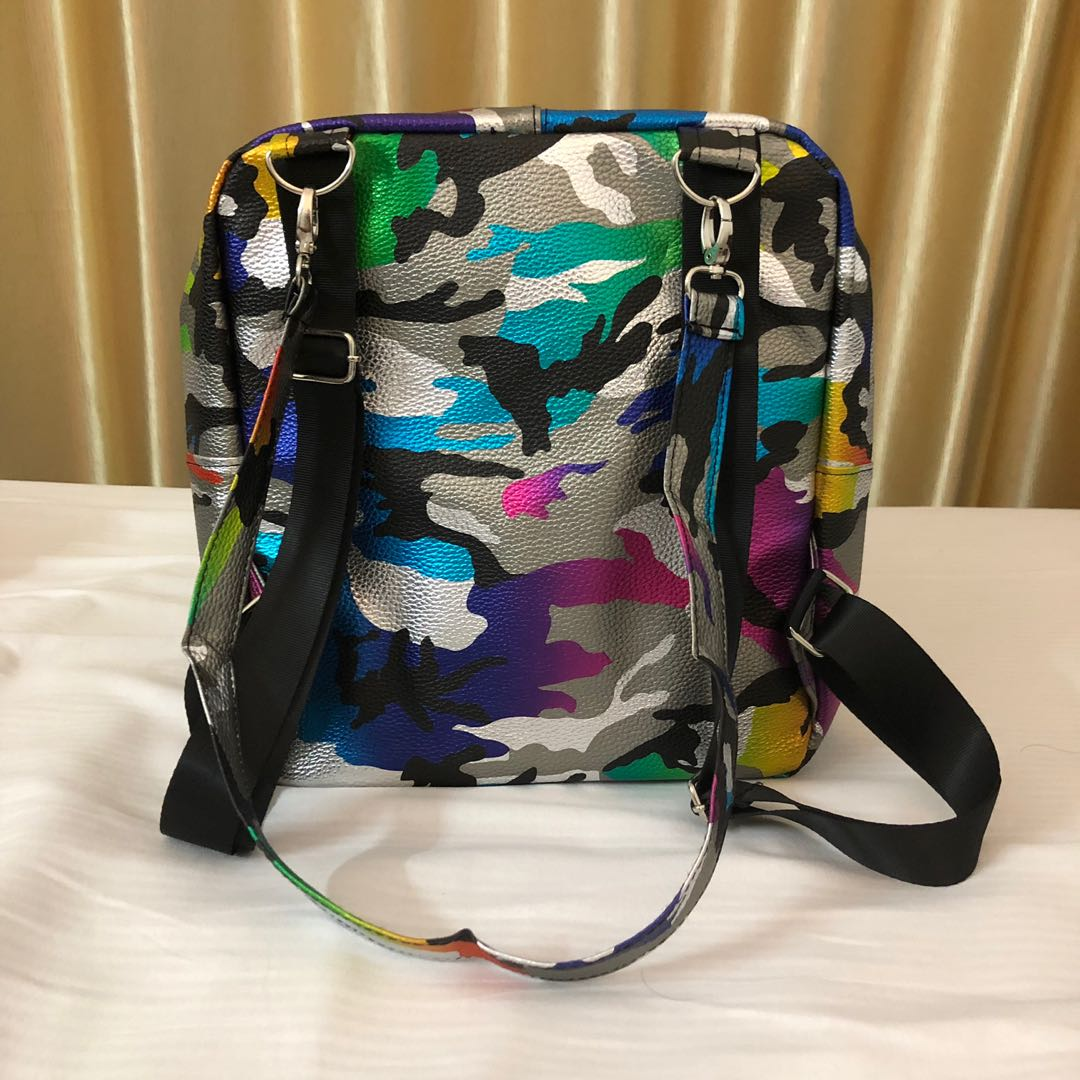 0c224d0ac520 Camouflaged Handbag Backup