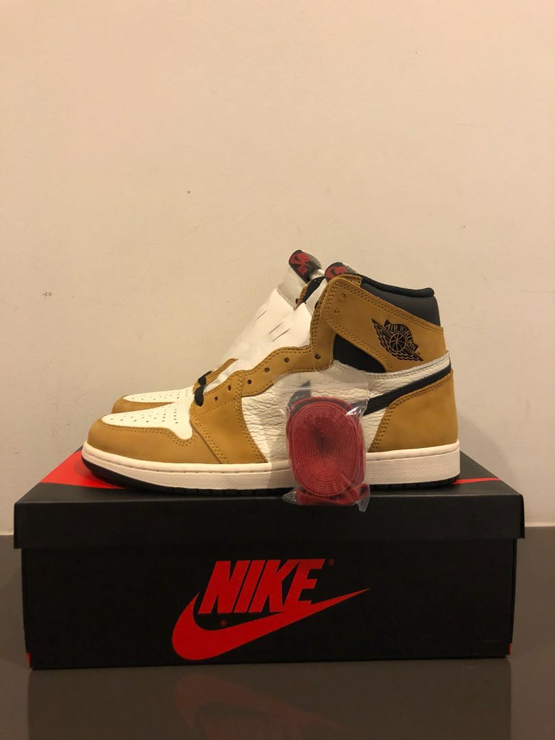 dab239e3002 CHEAP) US10 Nike Air Jordan 1 rookie of the year ( ROTY )