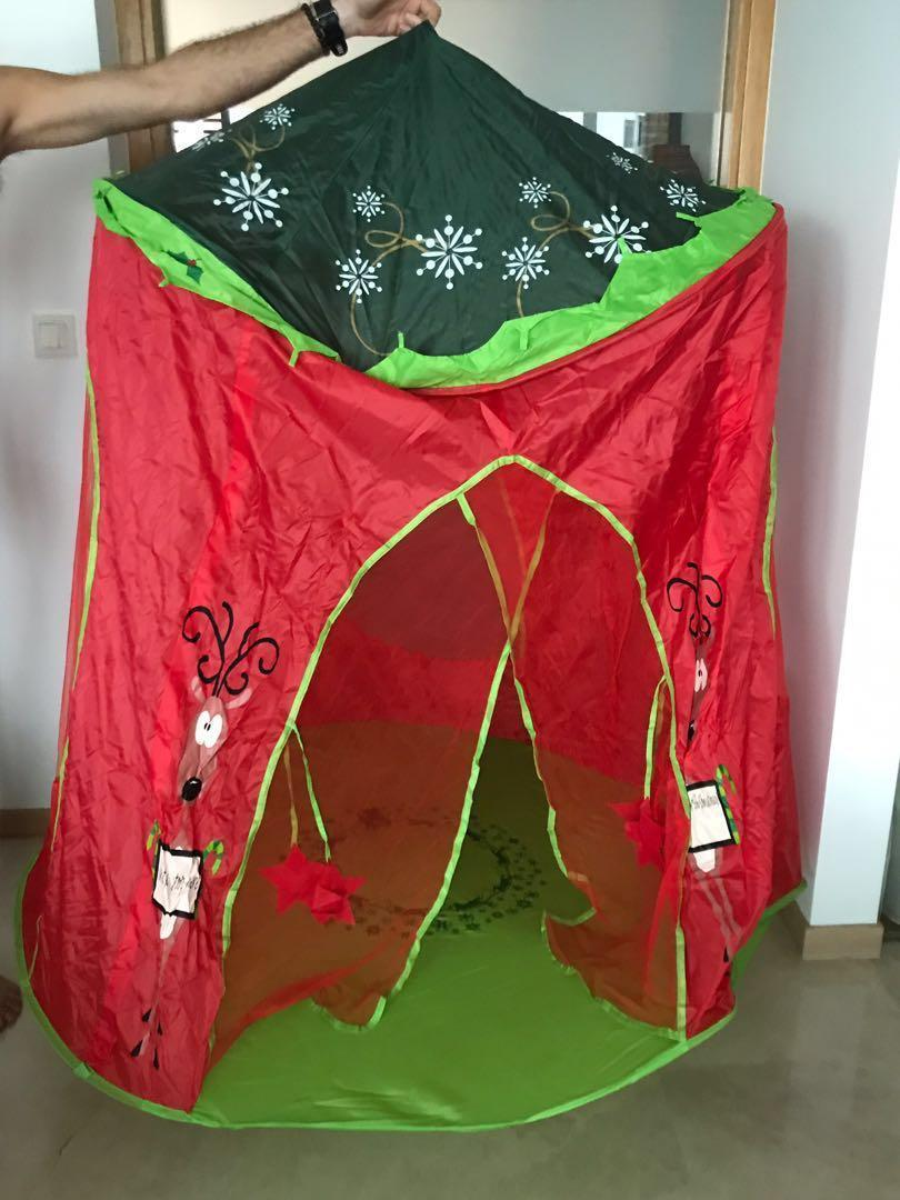 new arrival e76b9 13ba2 Christmas Play Tent, Babies & Kids, Toys & Walkers on Carousell