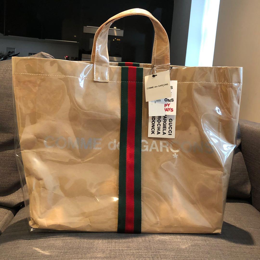 d7ea1f0a18b Comme des Garcons x Gucci Tote Bag