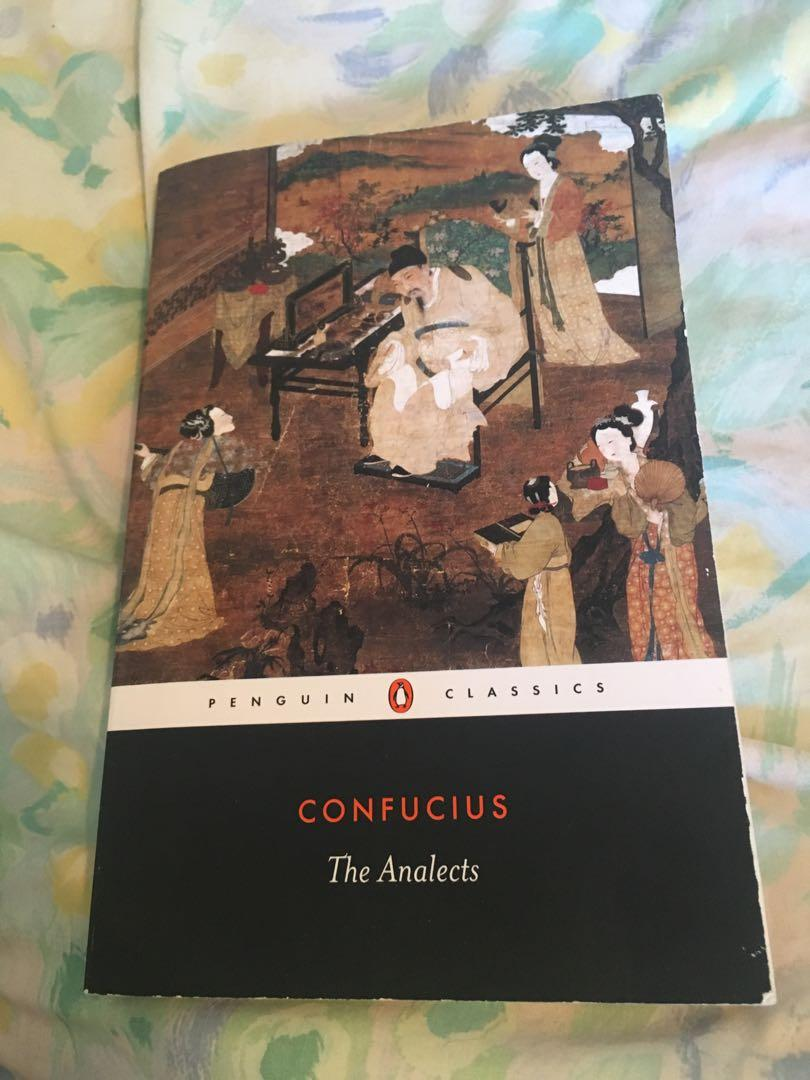 Confucius The Analects - History 222