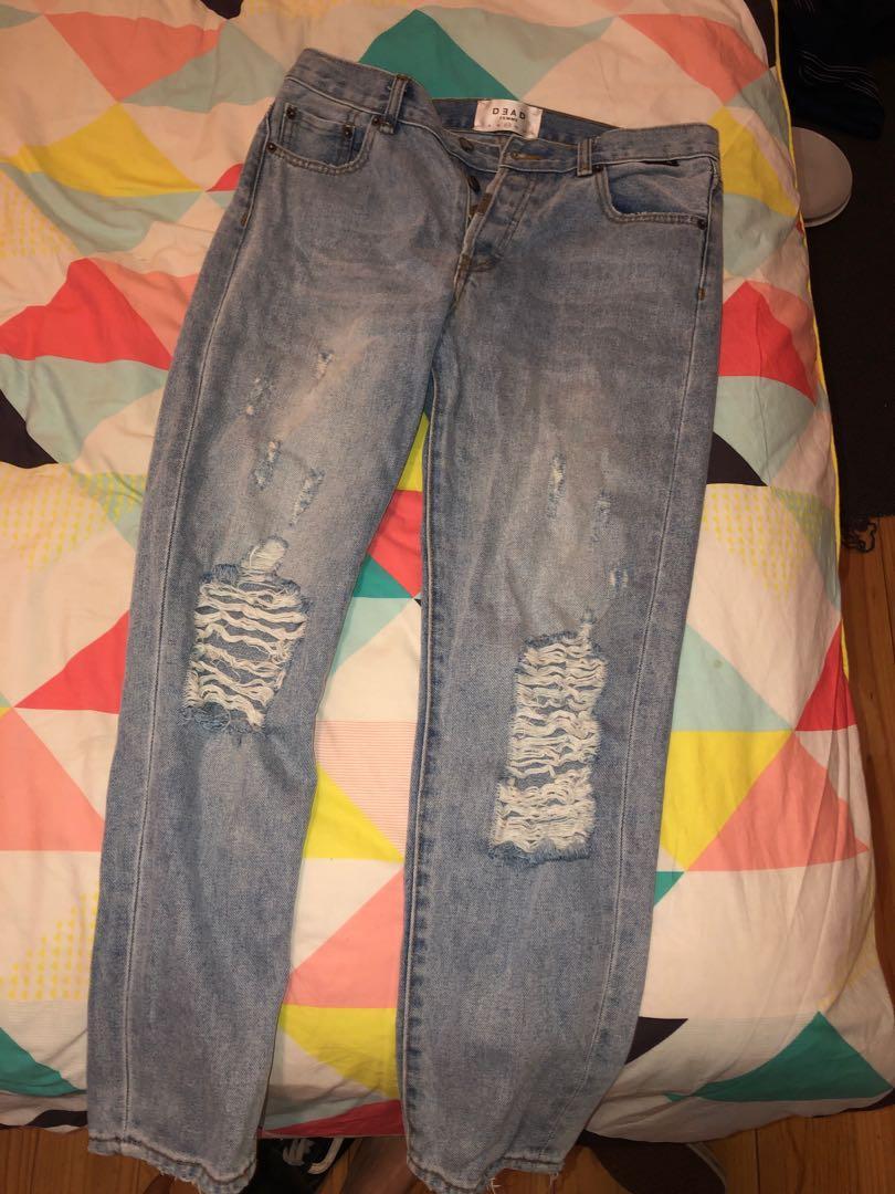 Dead Studios Maya Slouch Denim Jeans