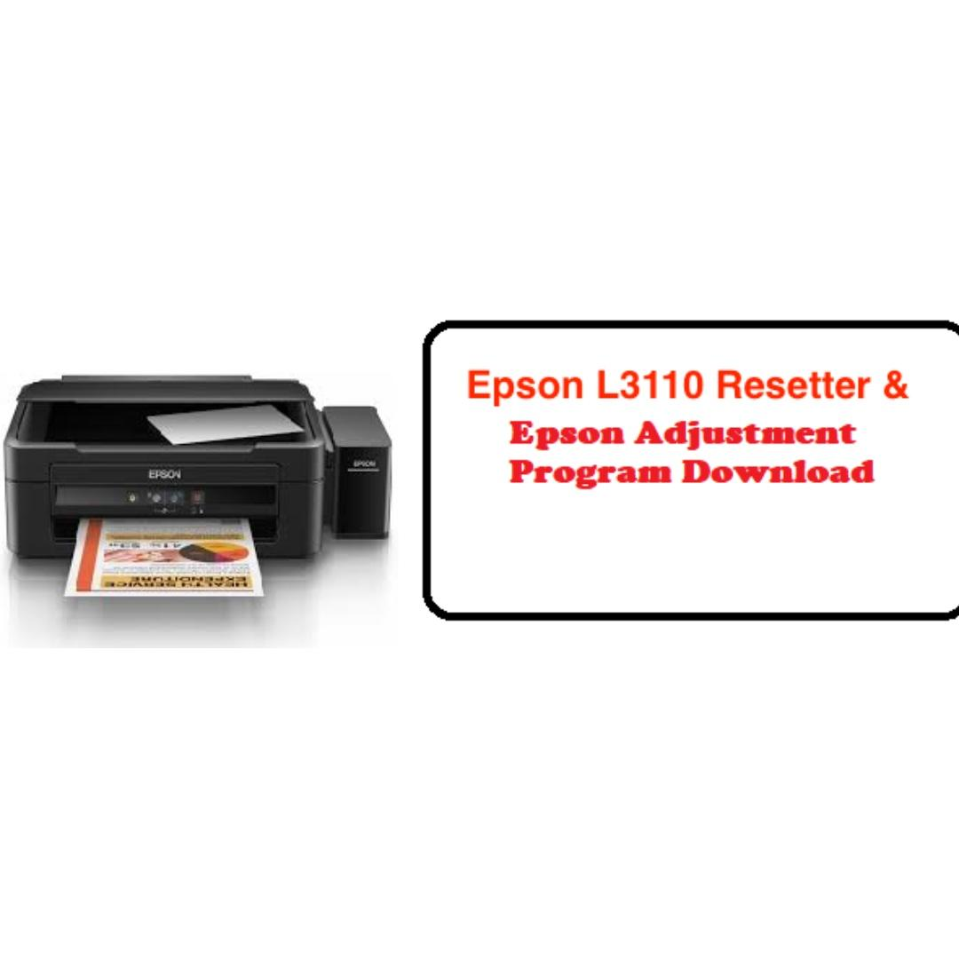 Epson L3110 Resetter and Adjuster on Carousell