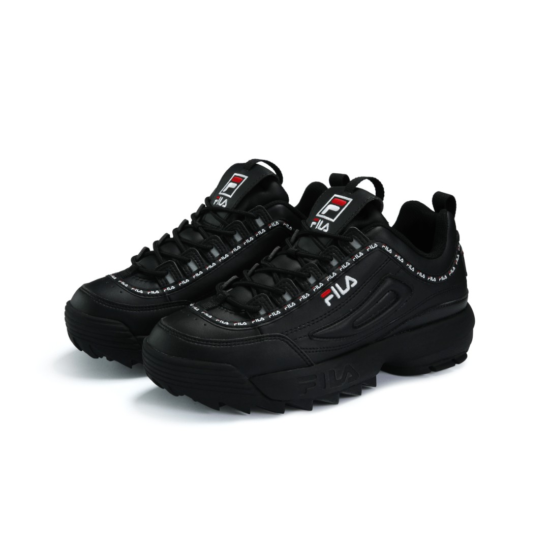 f730729b6b4 FILA Disruptor Trainers In Black, Women's Fashion, Shoes, Sneakers on  Carousell
