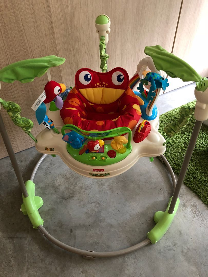 1258409f2 Fisher Price Rainforest Jumperoo