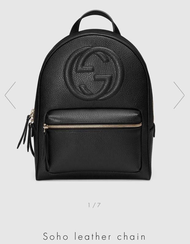 bce6cce47fb Gucci Soho Backpack