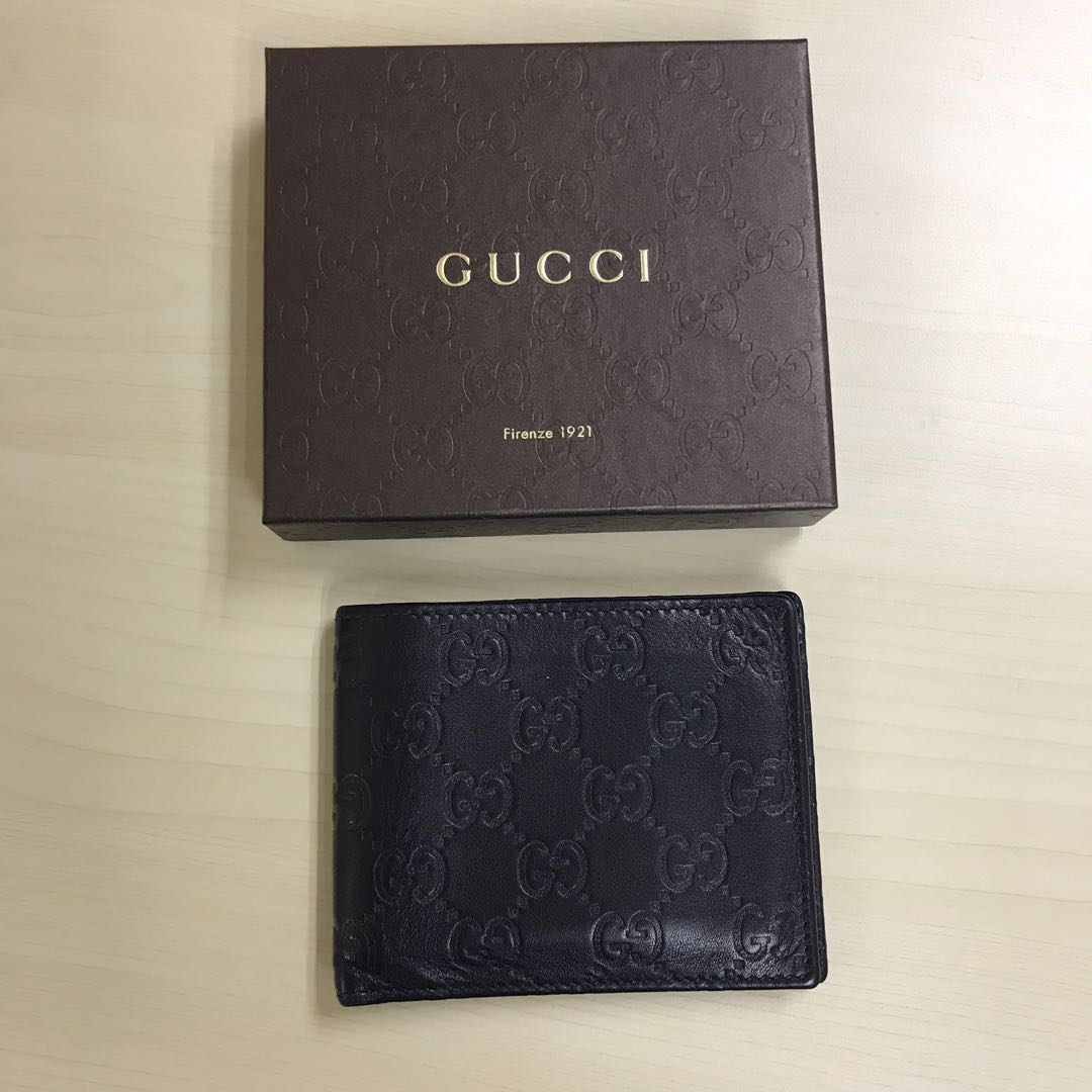 6a6af88188a4 Gucci Wallet (authentic), Men's Fashion, Bags & Wallets, Wallets on ...
