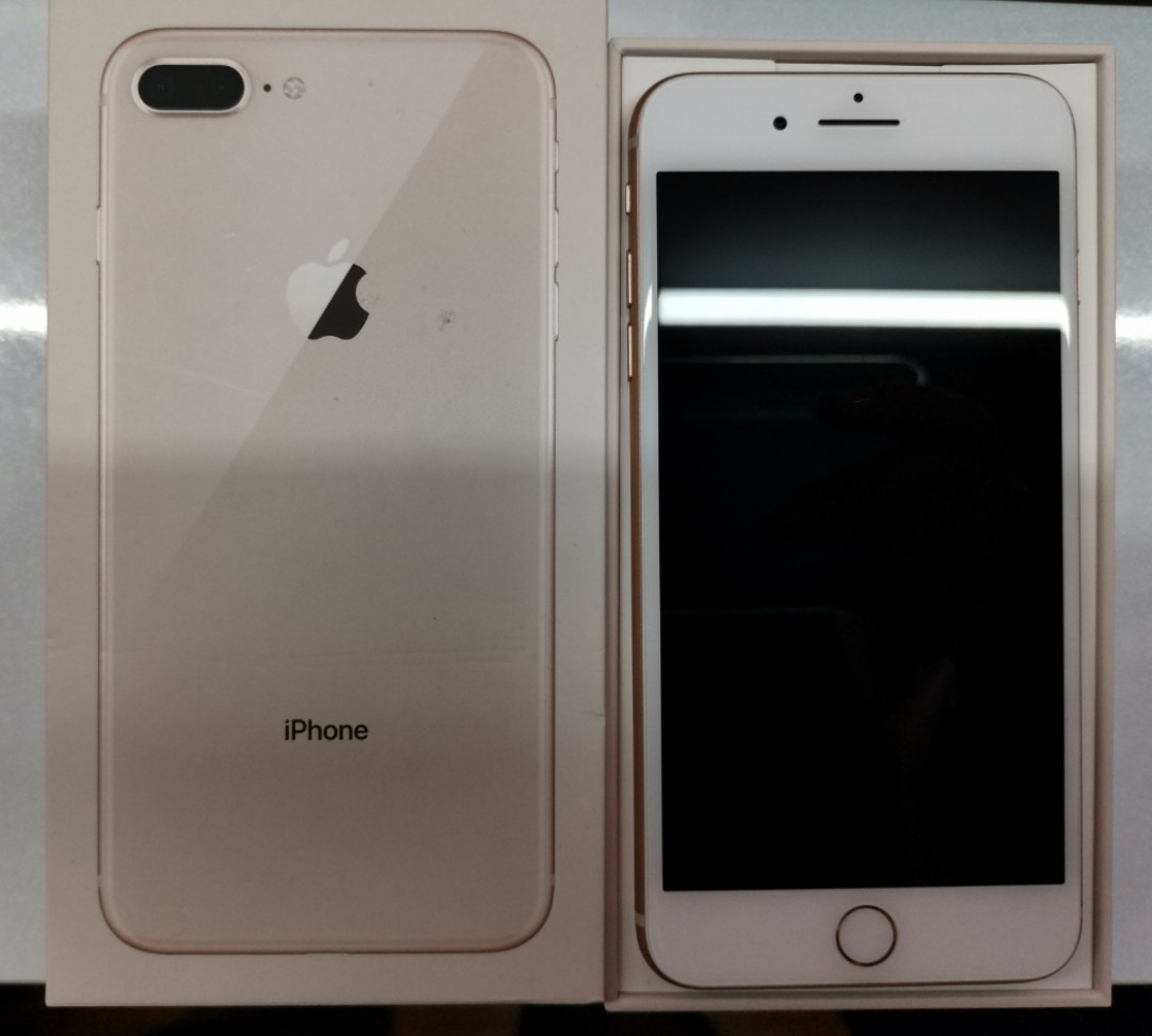 reputable site 4a463 95ddf iPhone 8plus 64gb (Rose Gold) with Apple Care