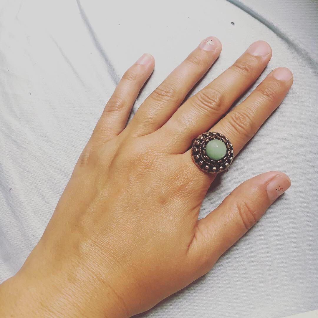 Jade Gemstone Ring