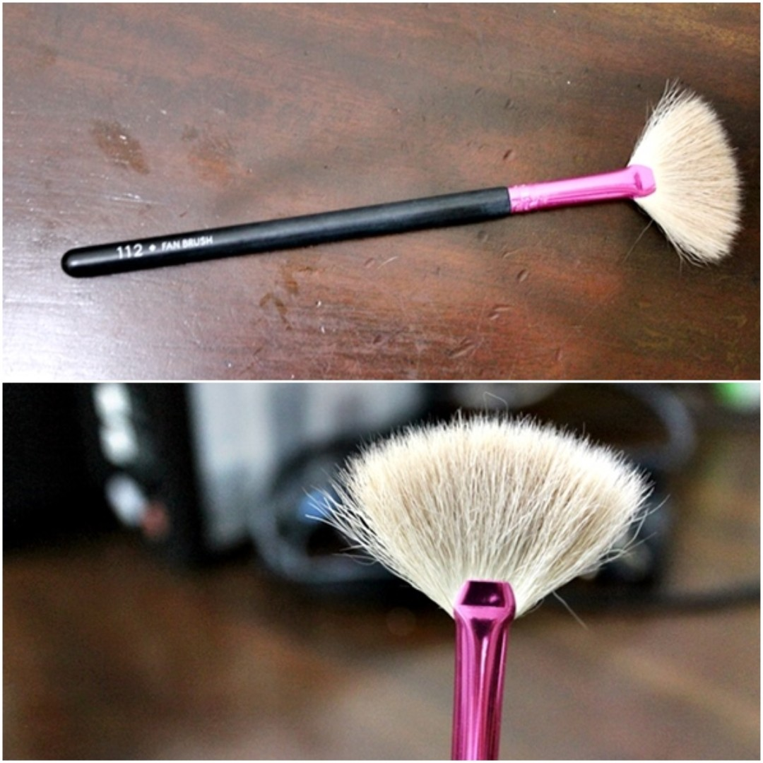 LAMICA Fan Brush no. 112 (rarely used) : 35k, Health & Beauty, Makeup on Carousell