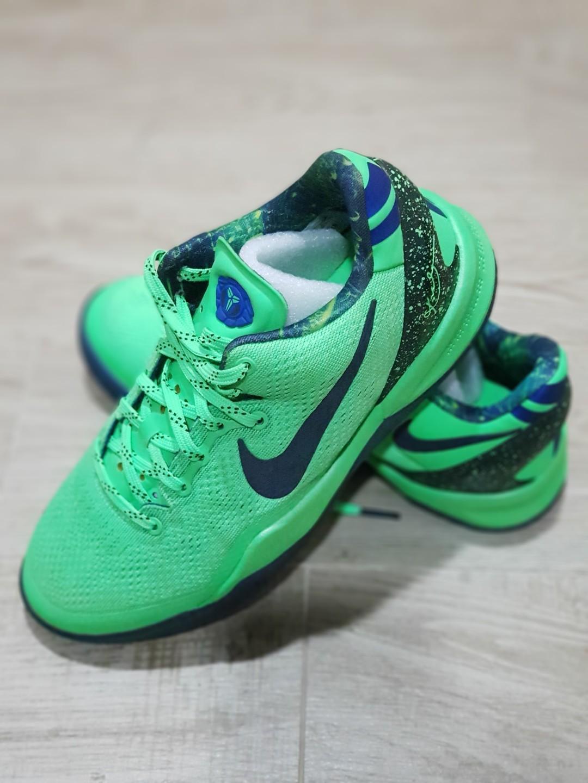 Nike Kobe Shoes Neon Green, Women's