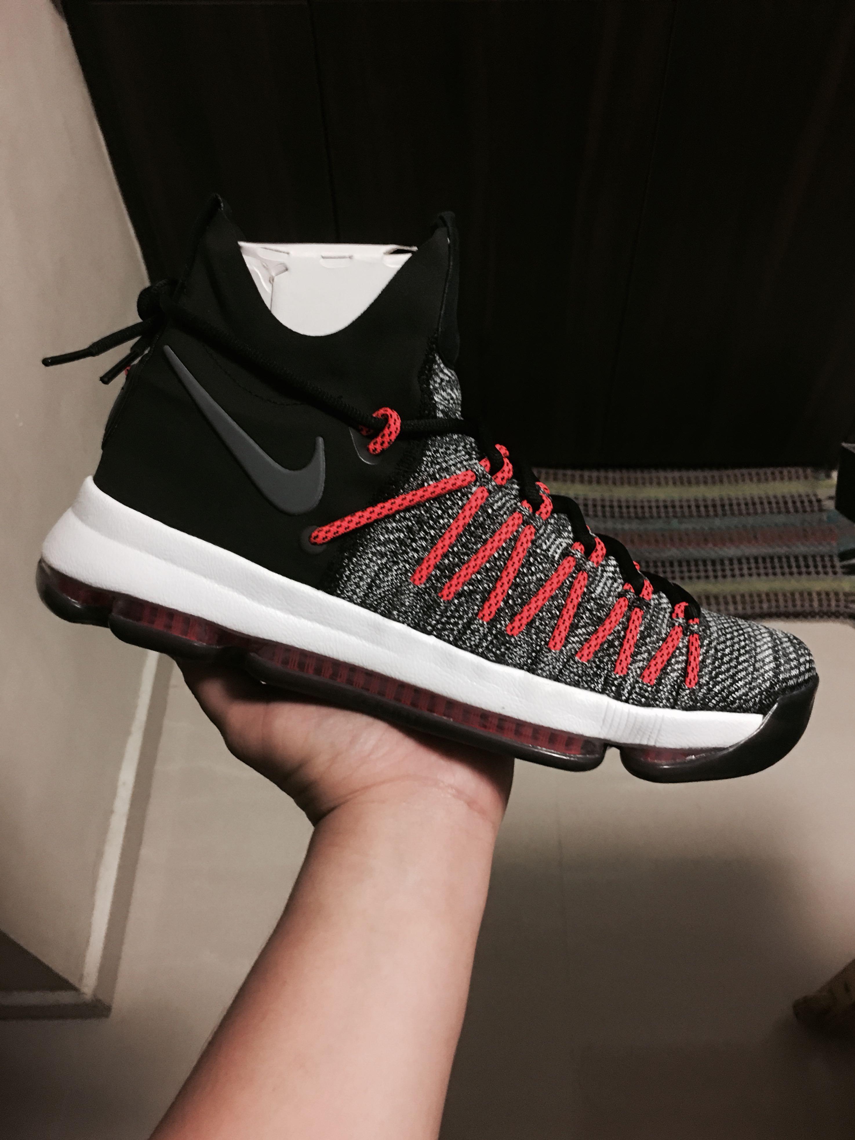 77c66418590 Nike Zoom KD 9 Elite ( Black Orange )