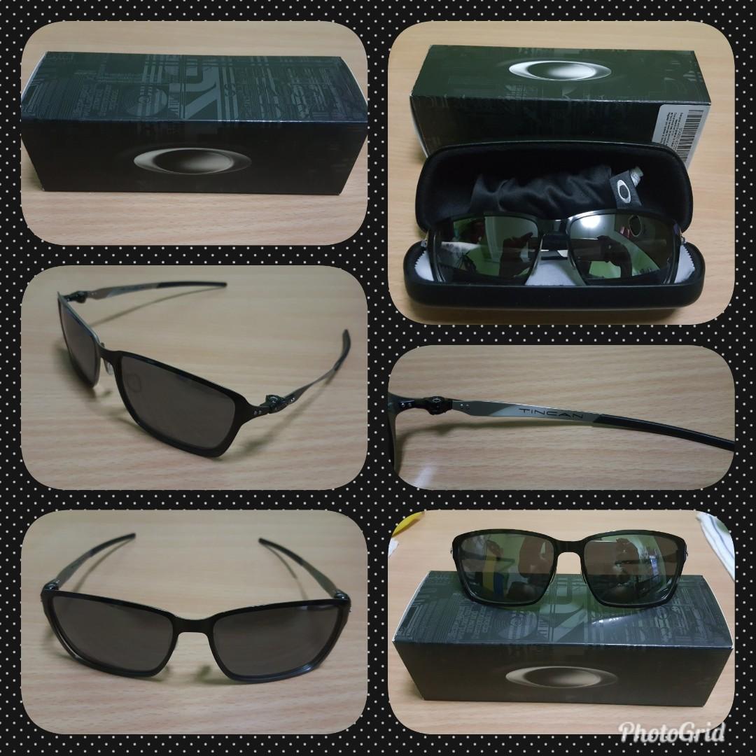 8d252355bd77 Oakley TINCAN Sunglasses, Men's Fashion, Accessories, Eyewear ...