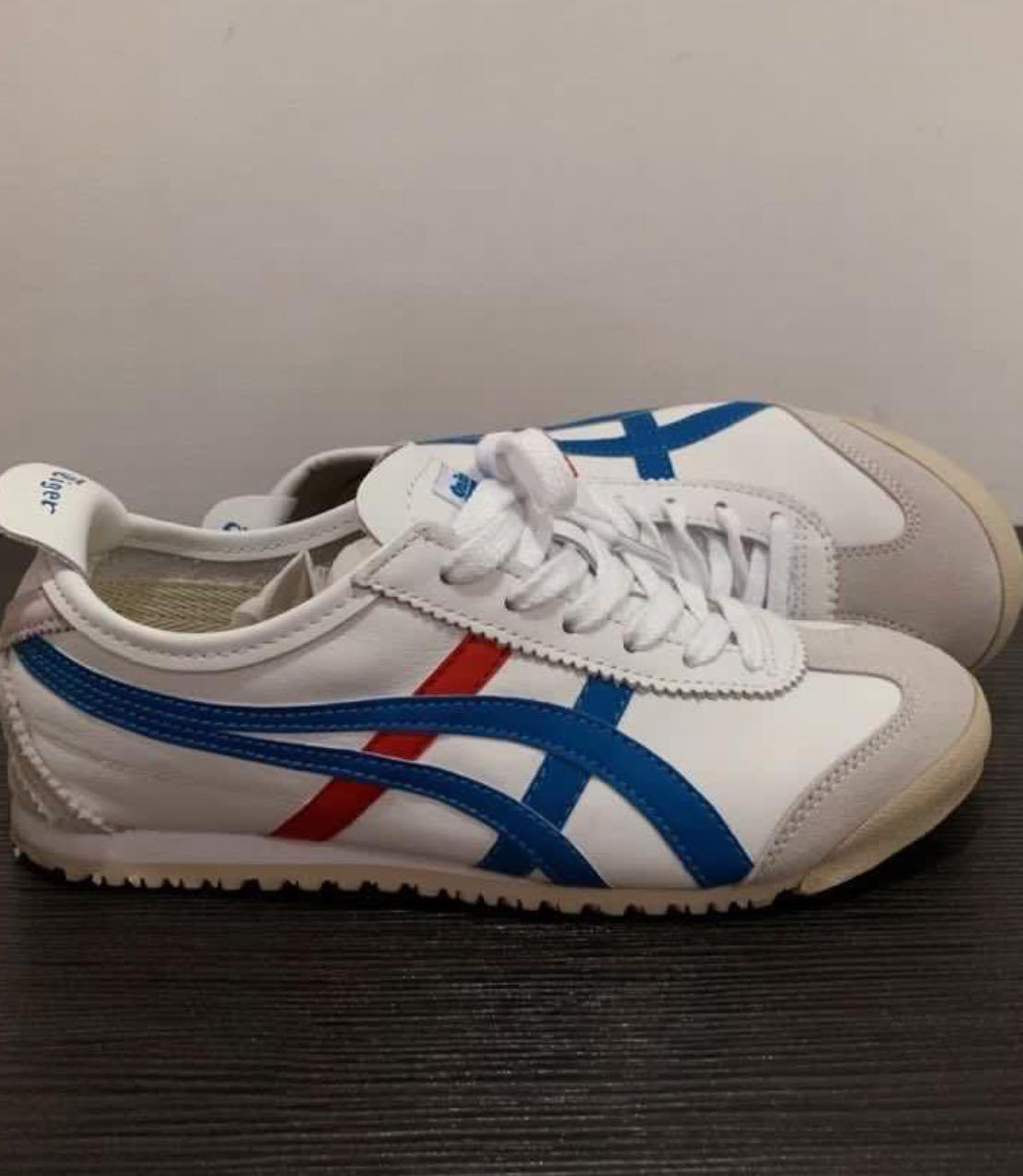 separation shoes 86486 32b2f Onitsuka Tiger Mexico 66 White Blue, Men's Fashion, Footwear ...