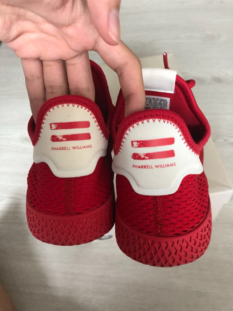 1dca11cacba39 Pharrell Williams Tennis Hu Solid Red