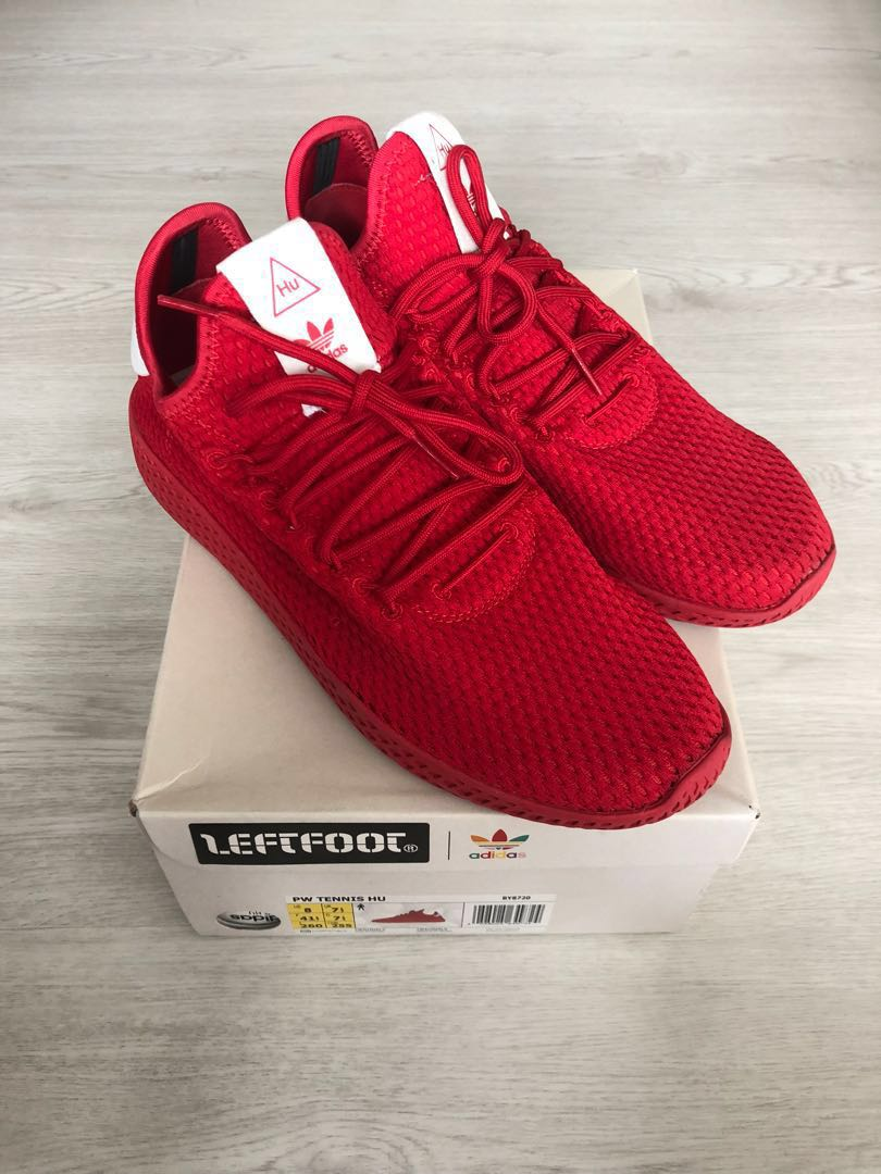 1afb97c7c846 Pharrell Williams Tennis Hu Solid Red