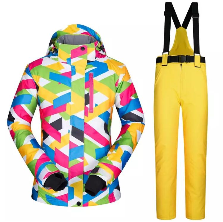 2ca0ab2934 PO) S-XL Winter Ski suit Women Brands 2018 High Quality Ski Jacket ...