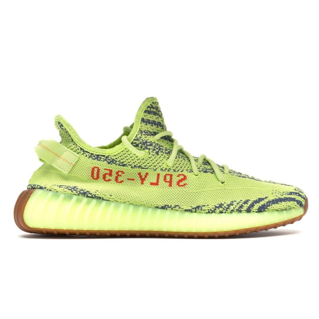 9a1fce952c9 💯 PREORDER  Adidas Yeezy Boost 350 V2 Semi Frozen Yellow