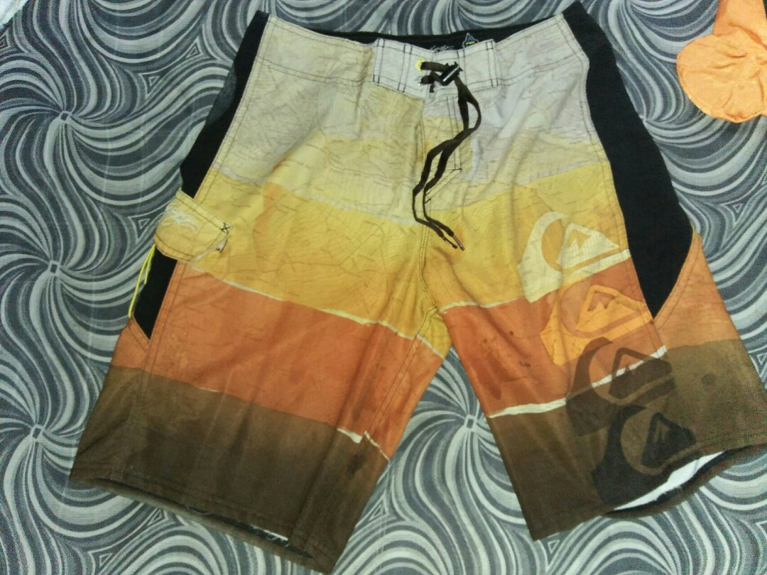 e964a00b7dad Quiksilver 4 way stretch, Men's Fashion, Clothes, Bottoms on Carousell