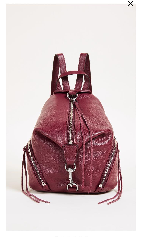 4be768efd1a Rebecca minkoff medium Julian backpack