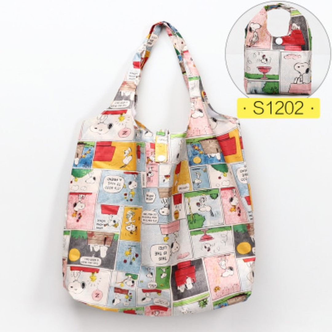 6dad6235ec76 S12 02 Small Foldable Recycle Bag for Shopping   Travel etc ...