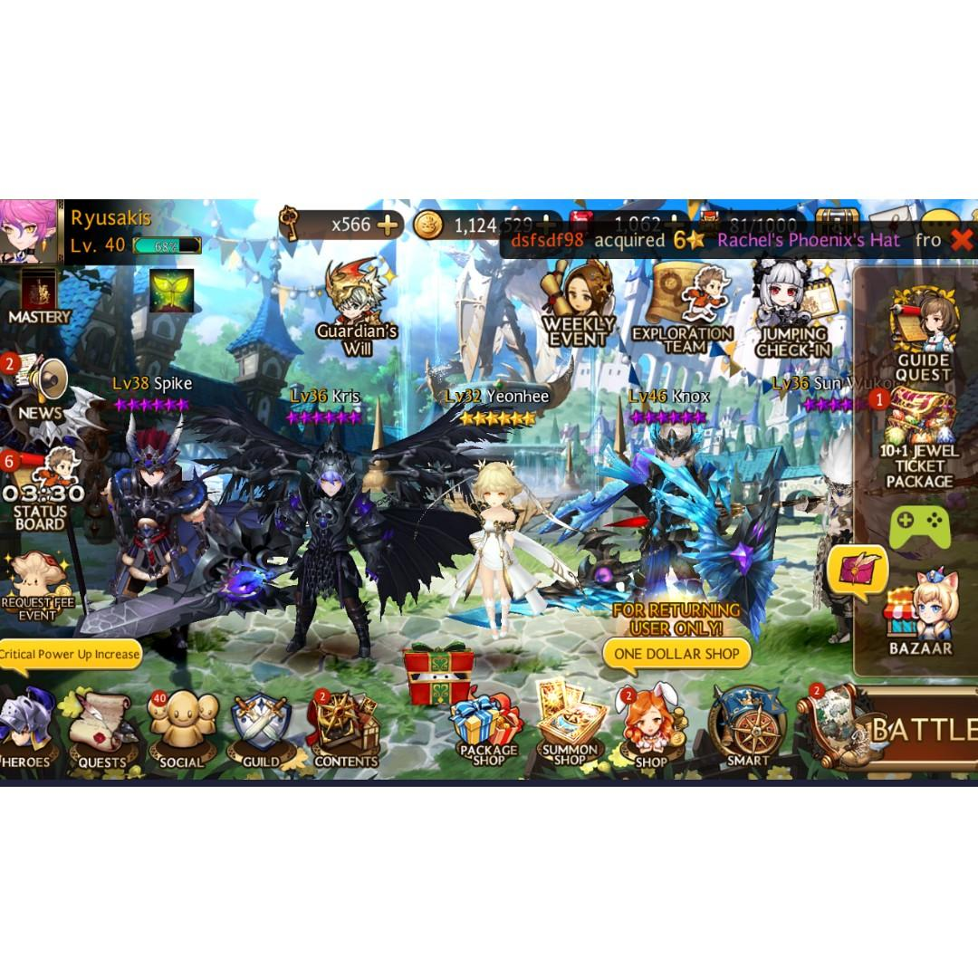 Seven Knights, Toys & Games, Video Gaming, In-Game Products