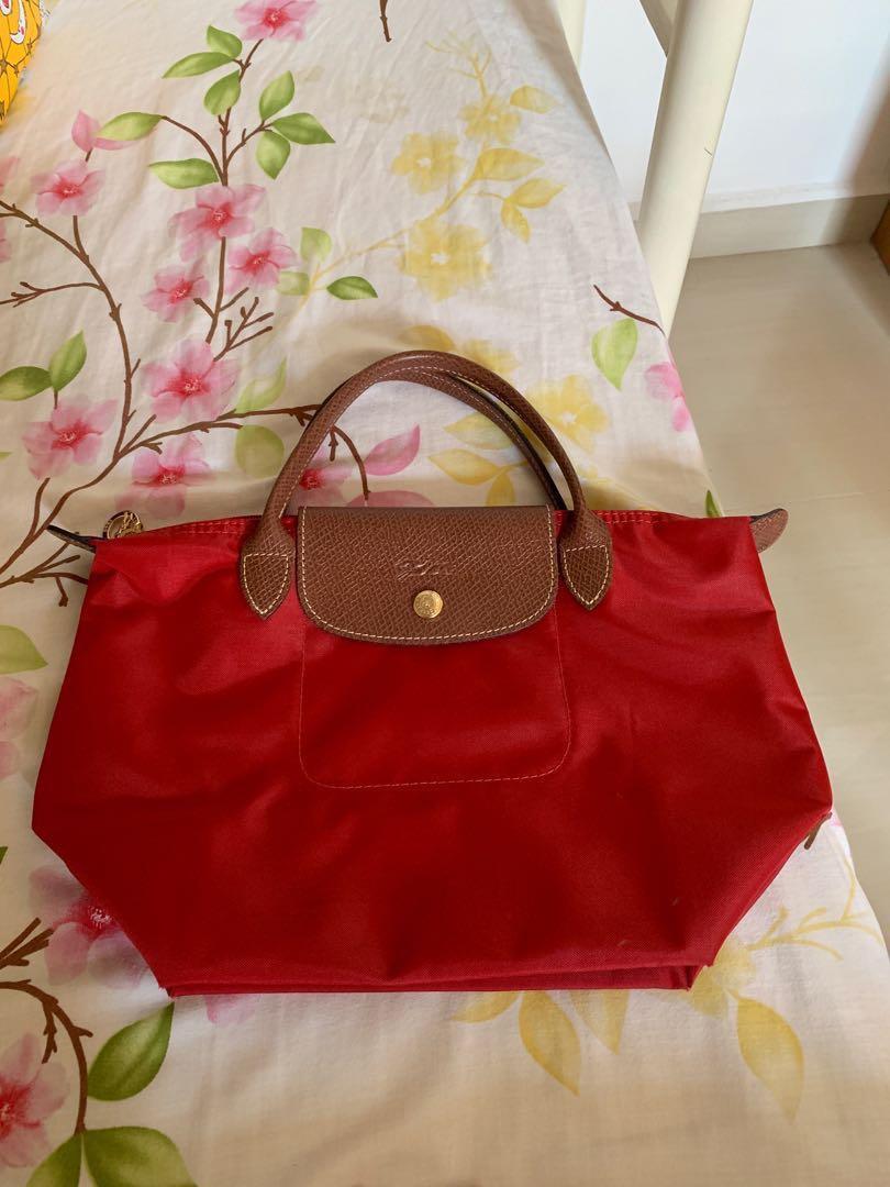 37848302577 Small Longchamp bag, Women s Fashion, Bags   Wallets, Handbags on Carousell