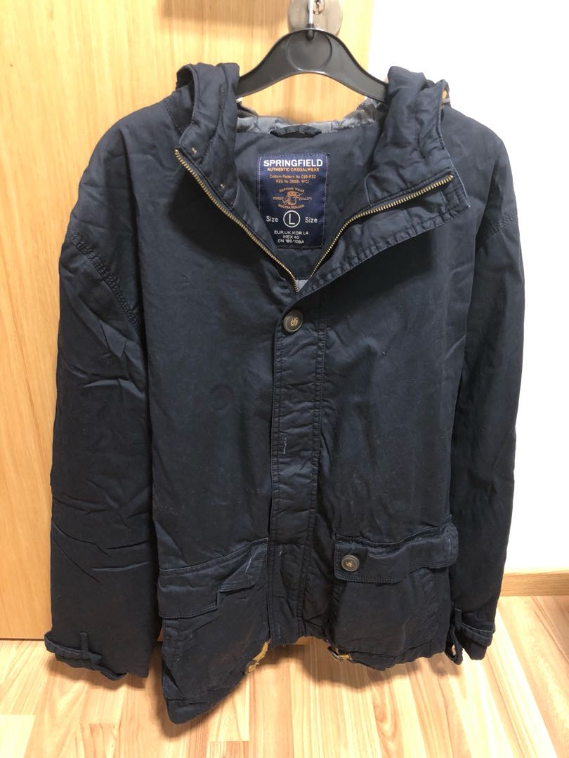 92d3cbe7 Springfield Mens Jacket, Men's Fashion, Clothes, Outerwear on Carousell