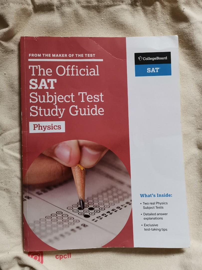 The Official SAT Subject Test Study Guide for Physics, Books