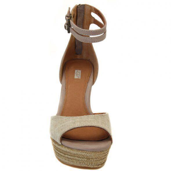 Ugg women's Oyster Devon Wedges- perfect for summer!