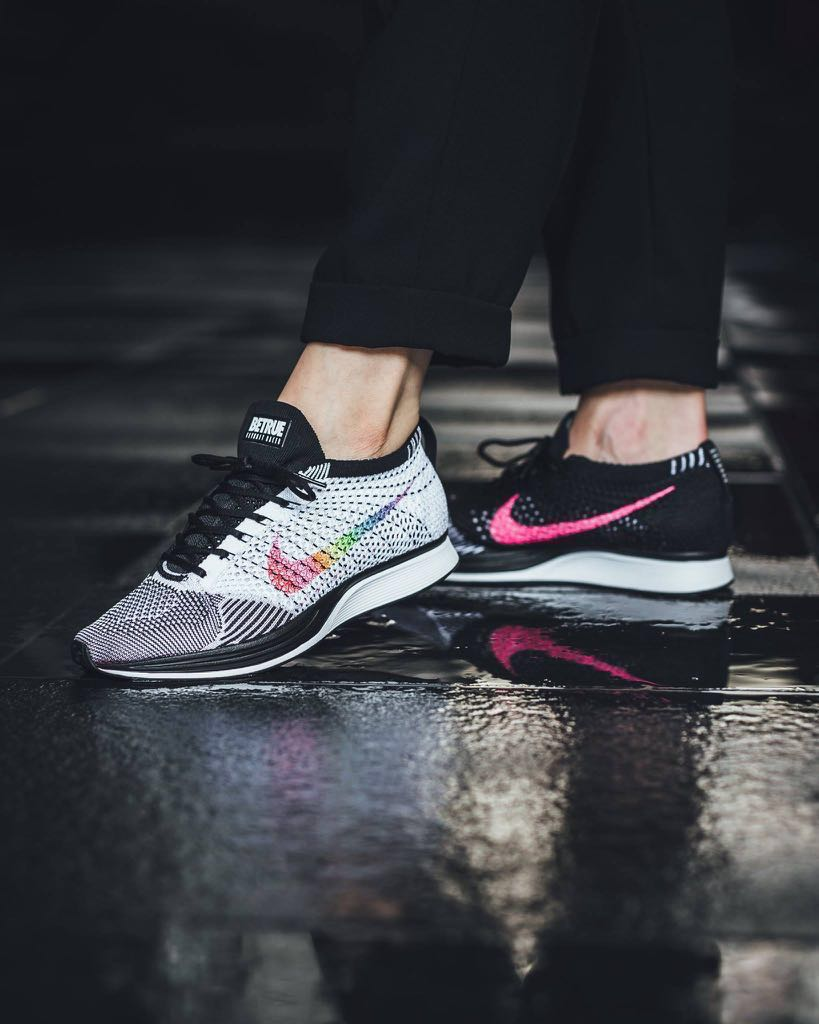 delicate colors buy competitive price US 9.5 AUTHENTIC BRAND NEW Nike Flyknit Racer Be True