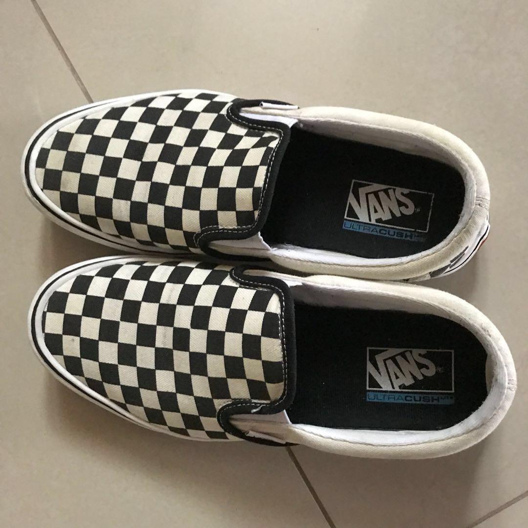 27ab81dc2d3684 Vans Checkerboard Slip-On Lite