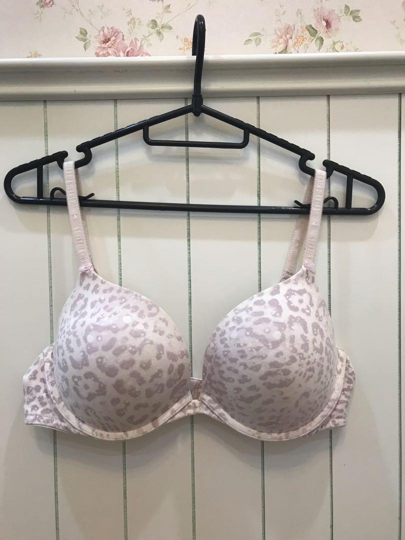 65cfb29b7d Victoria s Secret Pink Leopard print Push-up Bra 38B