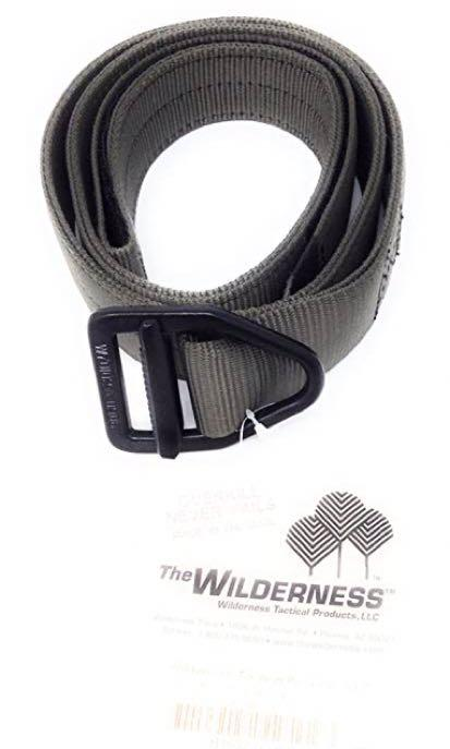 "Wilderness Original Instructors Belt Small Size 28-32"" Foliage Green"