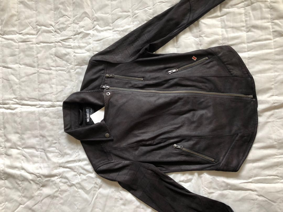 9b30d1c5a WilliamRast Ladies leather jacket by Justin timberlake and Trace Ayala