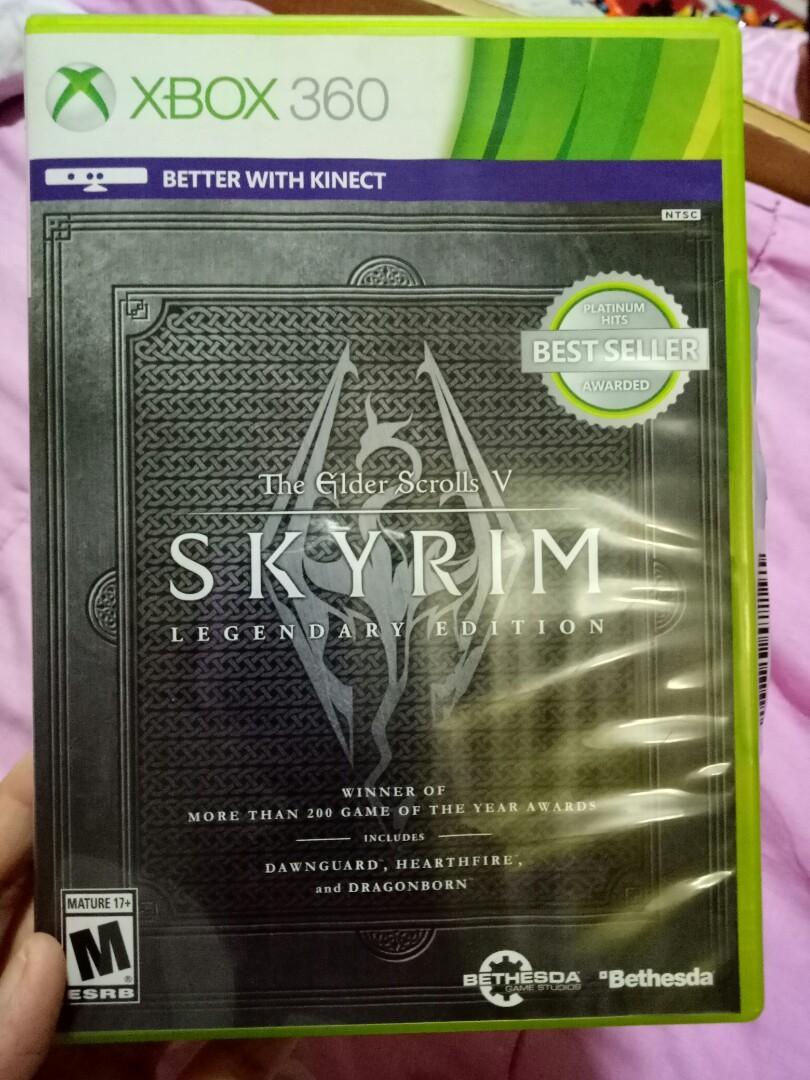 Xbox 360 The Elder Scrolls V Skyrim Legendary Edition on Carousell