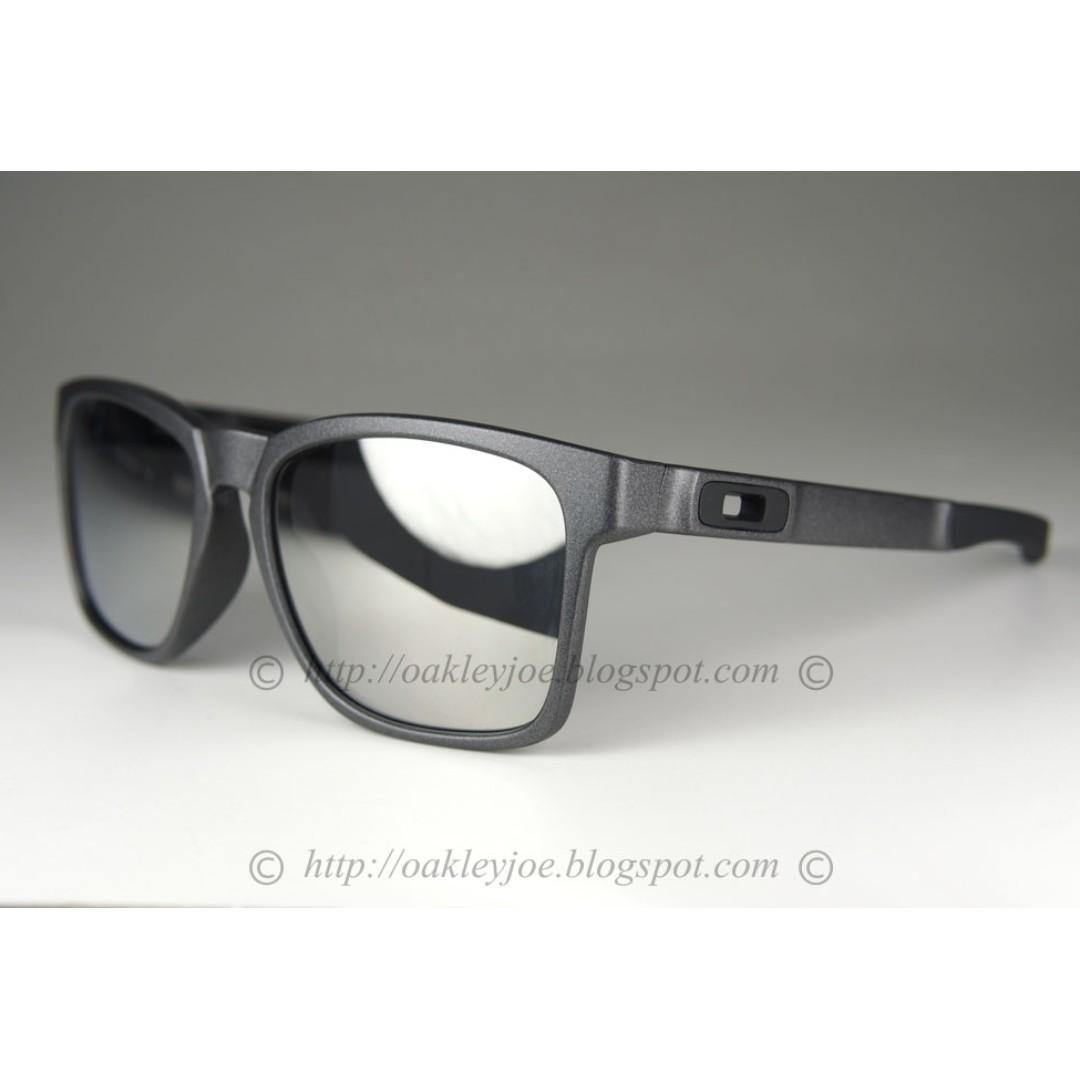 659cc5d603596 BNIB Oakley Catalyst Asian Fit catalyst steel + chrome iridium oo9272-03  sunglass shades