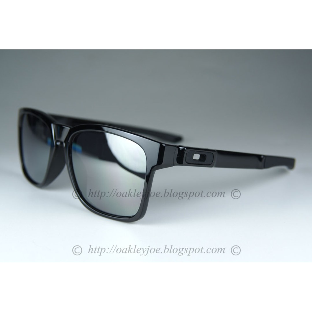 f5e03b4bb30 BNIB Oakley Catalyst Asian Fit polished black + black iridium oo9272-02  sunglass shades