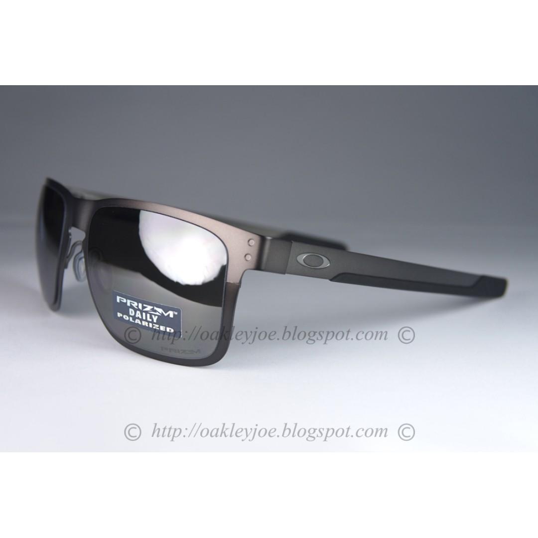 561b497bf4175 Sale! BNIB Oakley Holbrook Metal matte gunmetal + prizm black ...