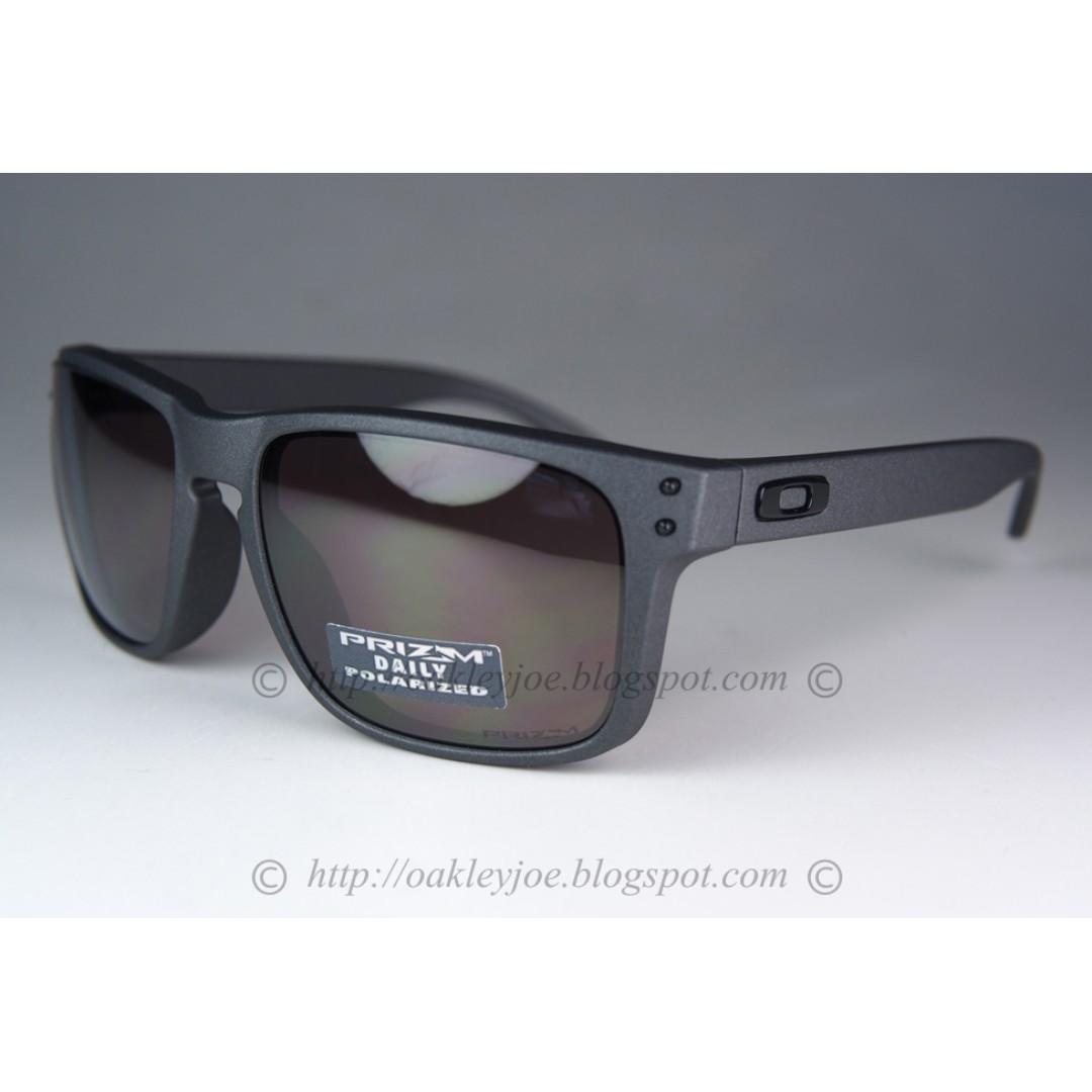 be28e2183eec3 Sale! BNIB Oakley Holbrook steel + prizm daily polarized oo9102-B5 ...