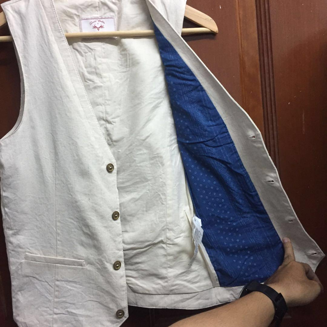 Zara Vest / Waistcoat Cream