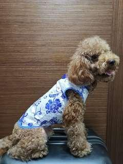 Dog cheongsam or qipao or Chinese dress for Chinese New Year CNY