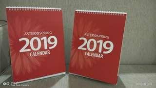 AsterSpring's Calendar 2019