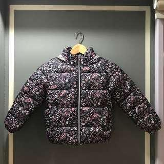 Mango Girl (Size 120 for age 6-7 years old) Winter Jacket with hoodie