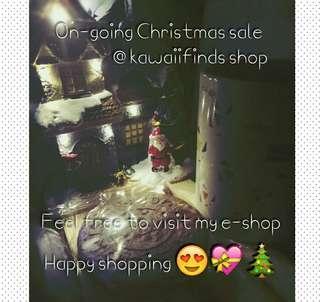 Ongoing Christmas sale @ kawaiifinds shop 🎄🎊🎉🎁🎀