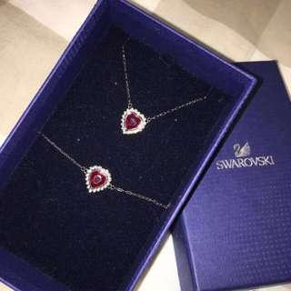 Swarovski Red Crystal Necklace
